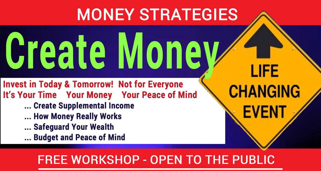 Mary Wong Insurance is presents Financial Workshops in June.  FREE, FUN, INFORMATIVE